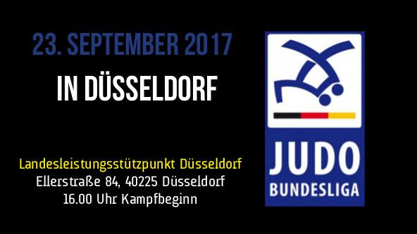 Judo Bundesliga Heimkampf Werbung