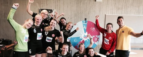 Fortunas Damenteams Erfolgreich
