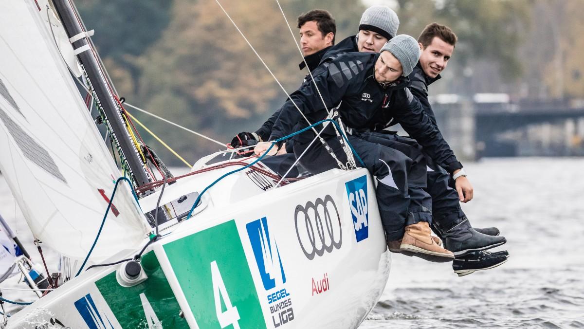 V.l.: Die Mannschaft Für Berlin: Jan-Philipp Hofmann, Patrick Treichel, Alexander Swade Und Niels-Henning Hofmann (Foto: DSBL Lars Wehrmann)