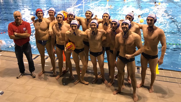 Wasserball Mannschaftsfoto