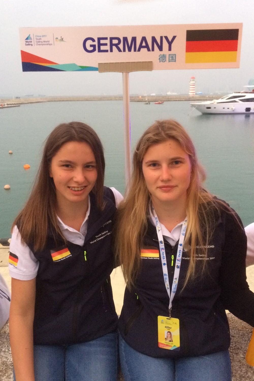 Inga-Marie Hofmann und Henriike Leitl (Foto: DYC/privat)