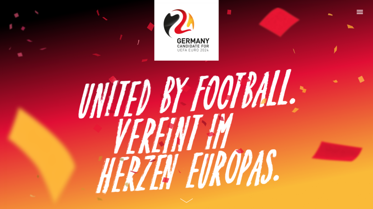 06 DFB Homepage United By Football