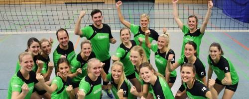 Doppelter Matchball Für Die Düsseldorfer Volleyballer