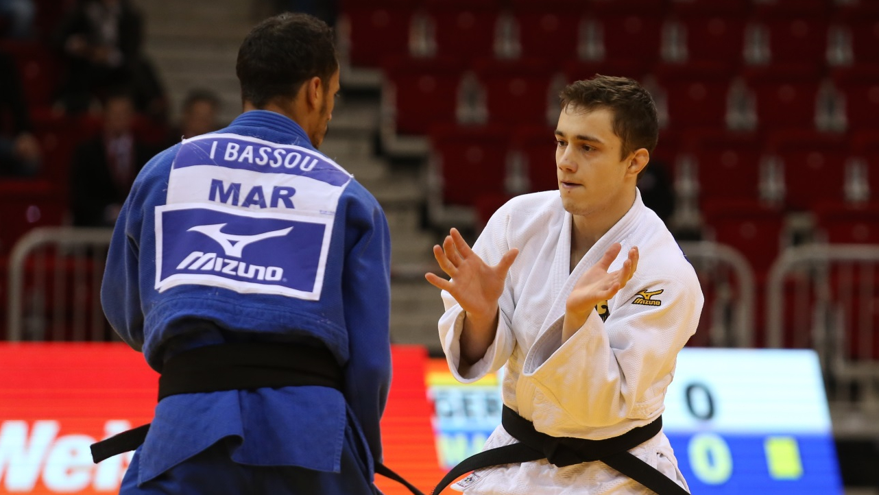 Judo Grand Prix Düsseldorf 2018: Japaner Am Ersten Kampftag Im ISS Dome Eine Klasse Für Sich