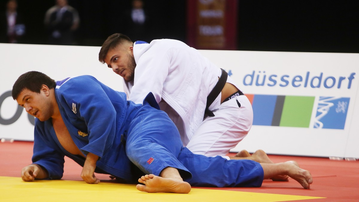 Andrey Volkov Gegen Johannes Frey (Foto: David Young)