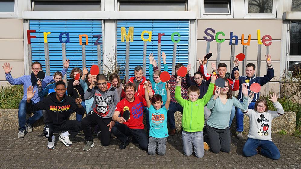 """Integrationsprojekt """"Bunt Gehts Rund"""": Fit Durch Die Schule"""