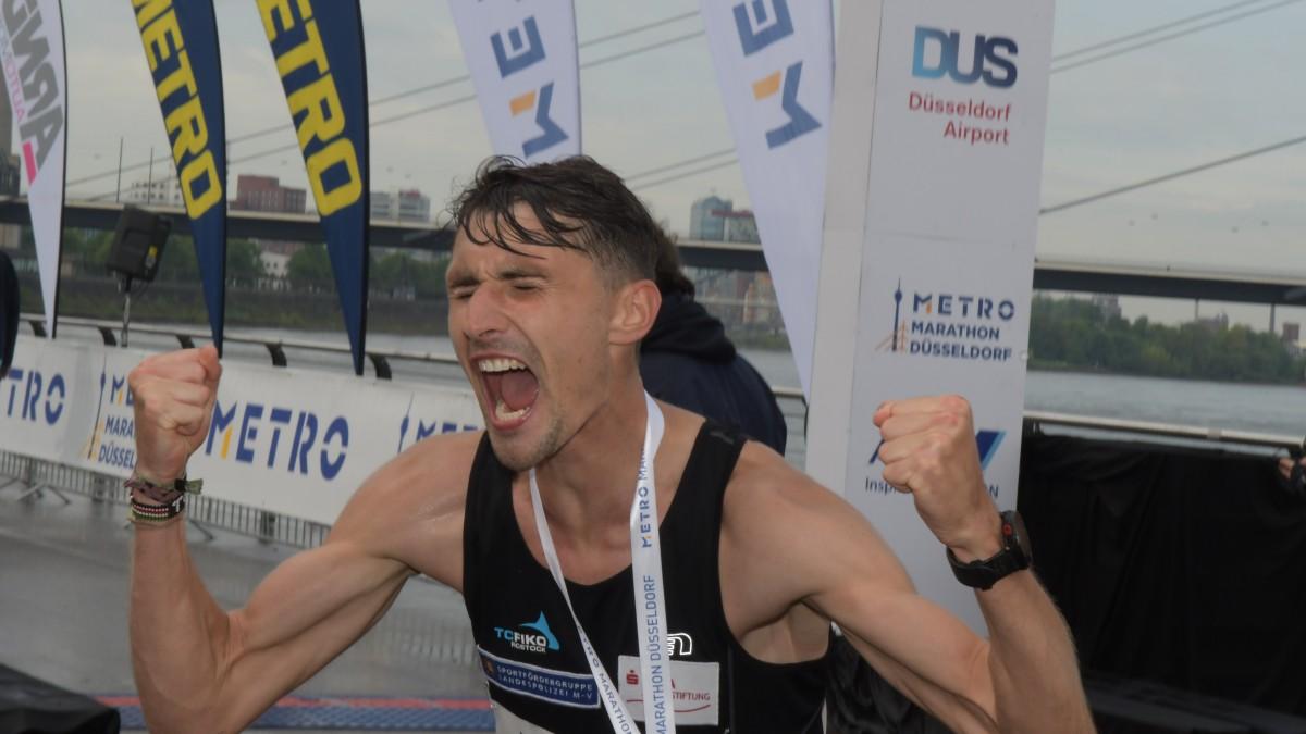 Tom Gröschel (Foto: METRO Marathon Düsseldorf/Klaus-Dieter Weber)