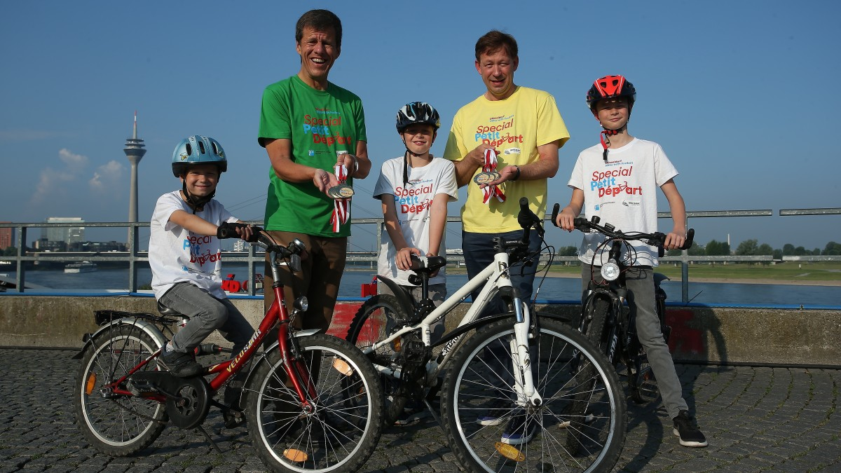 Der Radwettbewerb Für Kinder Mit Sonderpädagogischem Unterstützungsbedarf Findet Am Mittwoch, 6. Juni, Im Rather Waldstadion Statt