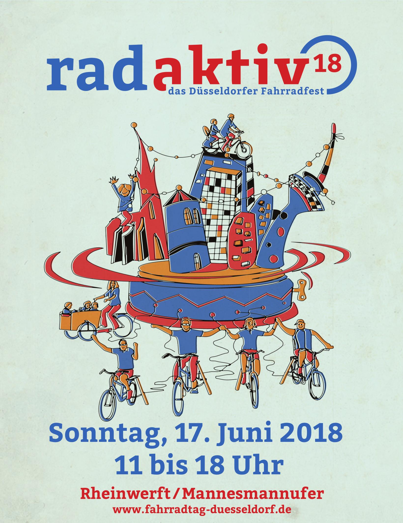 (Plakat: Landeshauptstadt Düsseldorf, Amt für Verkehrsmanagement)