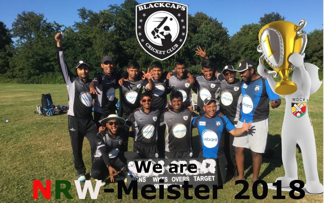 NRW Meisterschaft Blackcaps