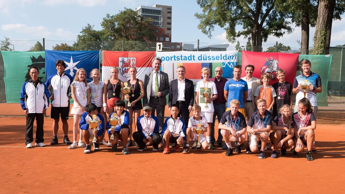 DFC2018 Gruppenbild Tennis
