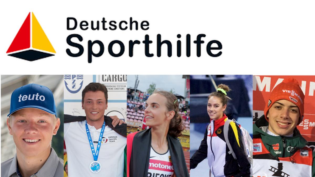 Die Nominierten Juniorsportler 2018 (Foto: Deustche Sporthilfe)
