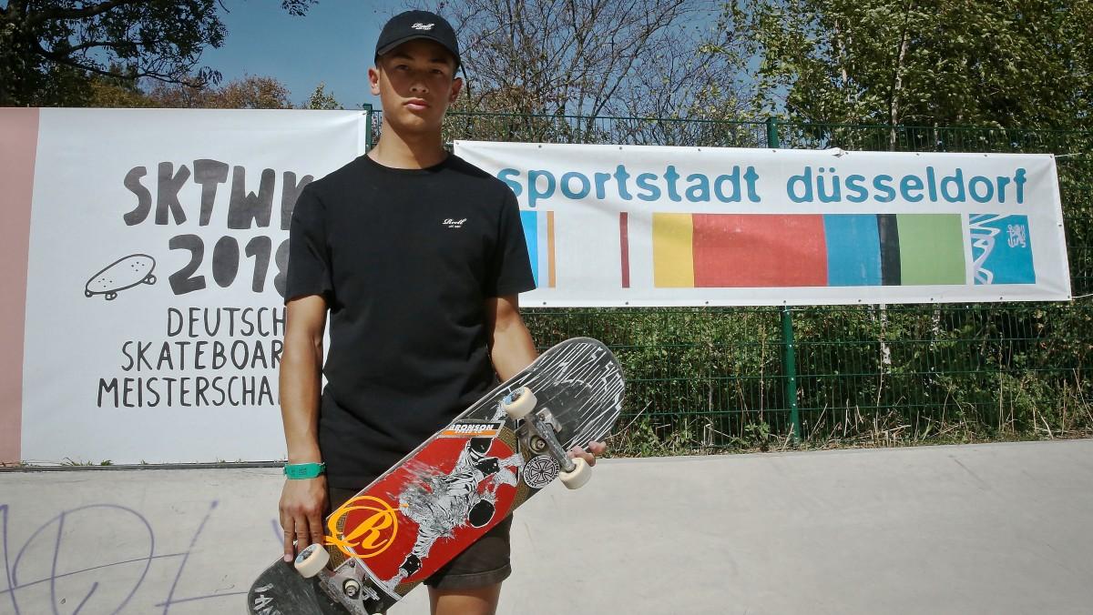 Skateweek Lenni Janssen