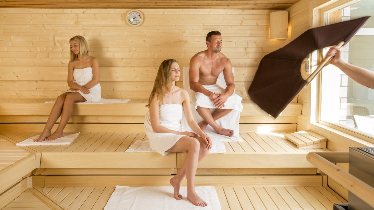 Strand Sauna
