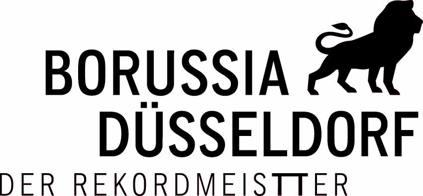 BORUSSIA  Logo Schwarz