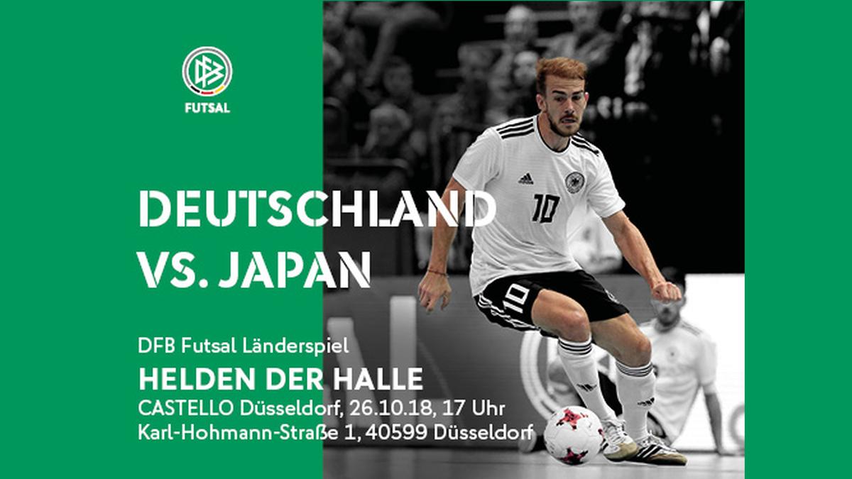 Futsal Länderspiel  DEUTSCHLAND – JAPAN
