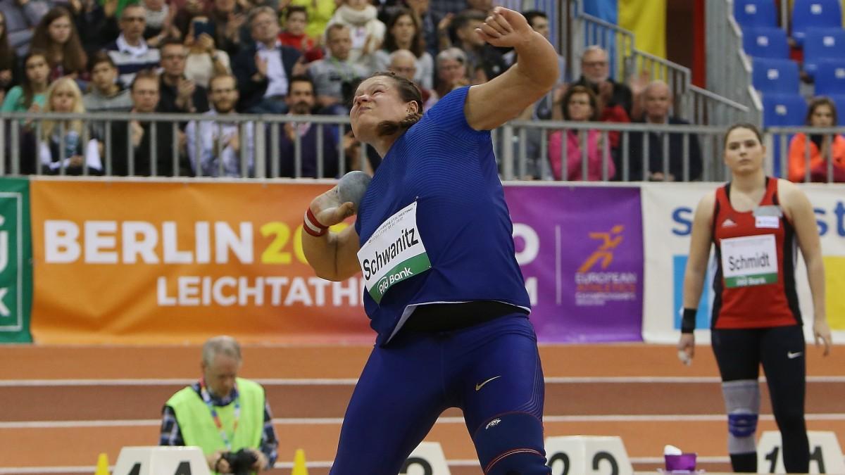 Christina Schwanitz (Kugelstoßweltmeisterin Von 2015 Und Dreimalige Europameisterin) (Foto: David Young