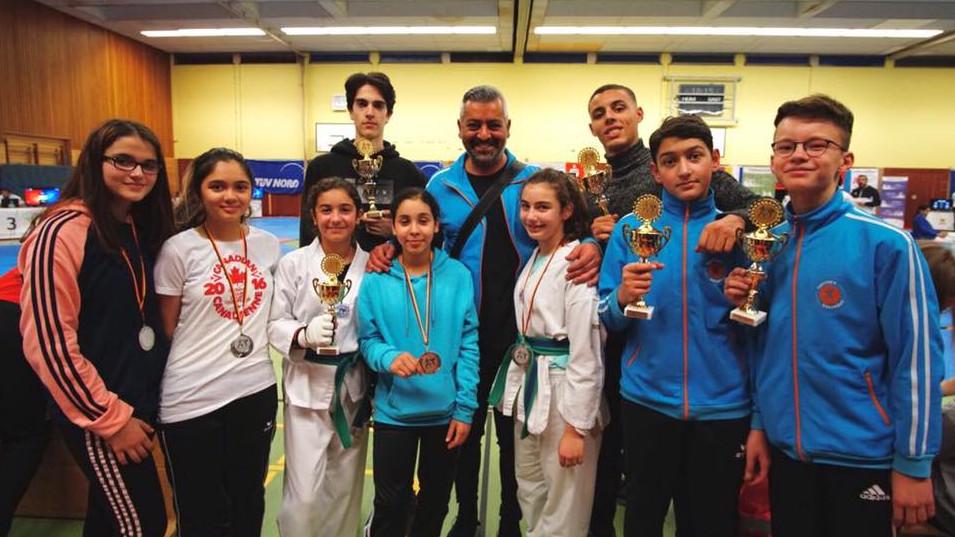 Inan Tunc Mit Den Sportwerk Taekwondoka