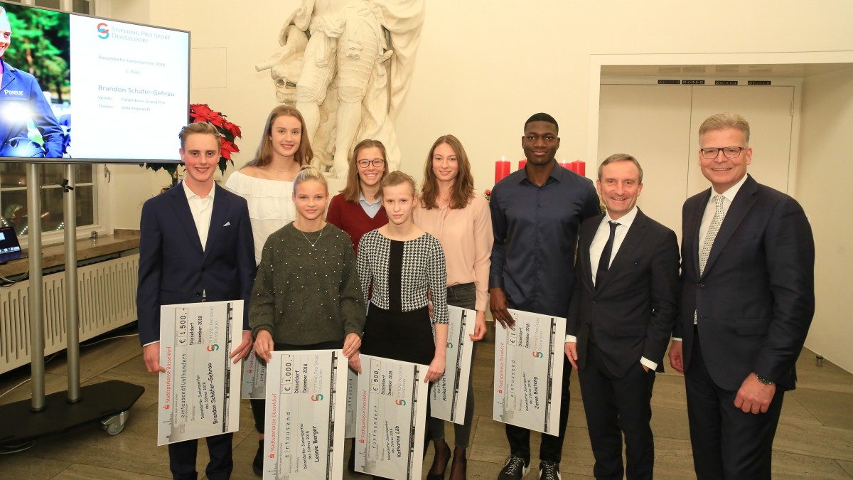 Düsseldorfer Juniorsportler Des Jahres 2018