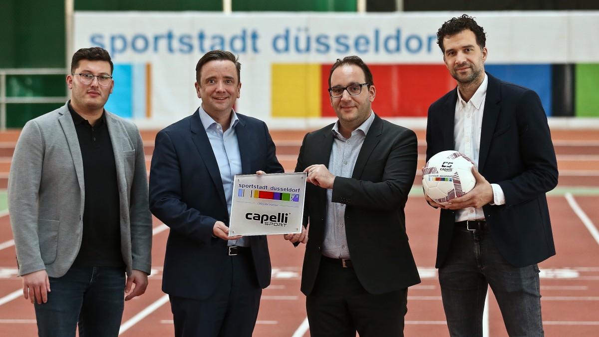 CAPELLI SPORT Ist Offizieller Partner Und Ausrüster Der Sportstadt Düsseldorf