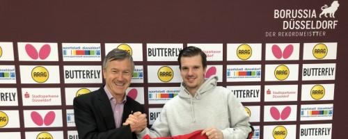 Nationalspieler Walther Kehrt Zur Borussia Zurück