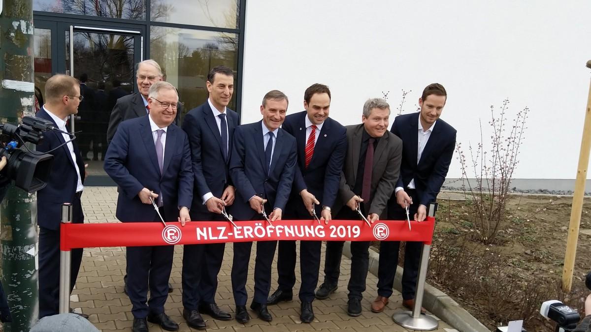 Feierliche Eröffnung Des Neuen Nachwuchsleistungszentrums (NLZ) Von Fortuna Düsseldorf (Foto: Landeshauptstadt Düsseldorf)