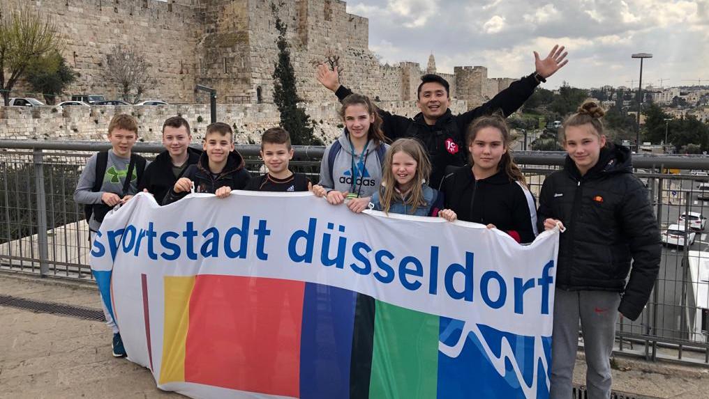"""Düsseldorfer Judoka Erfolgreich Beim """"Judo For Peace Festival"""" In Der Partnerstadt Haifa"""
