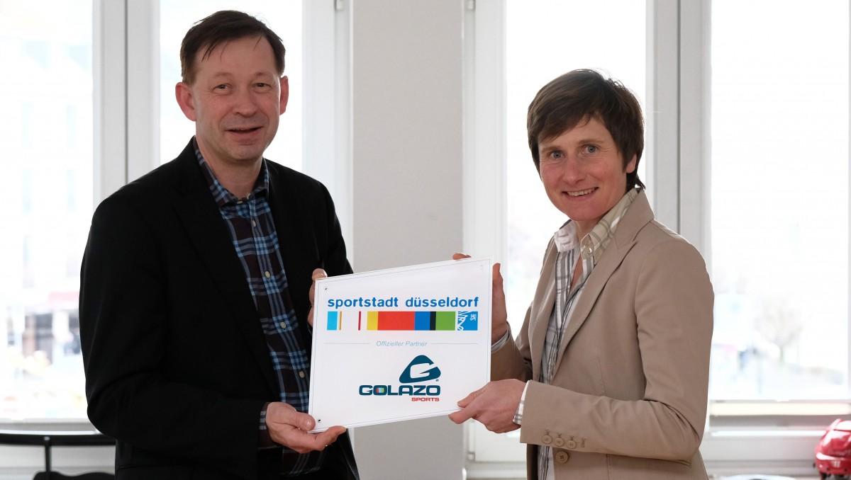 Golazo Sports AG Ist Offizieller Partner Der Sportstadt Düsseldorf