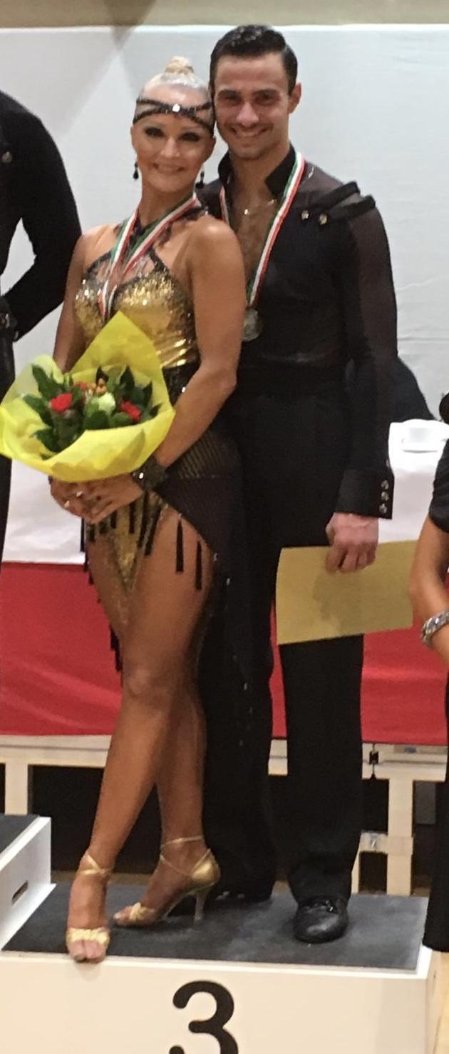 Virginia Lesniak und Philipp Andraus