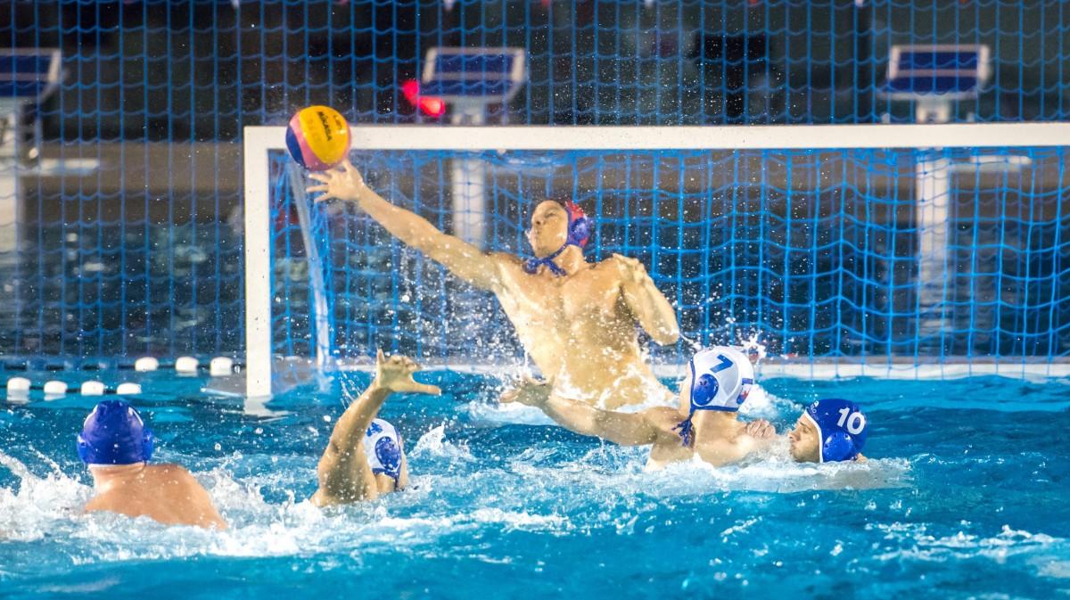 V.l.n.r. Karim Sallam (4), Sascha Vaegs (1) Und Joost Van Kaathoven (7) In Der Defensive (Foto: DSC)