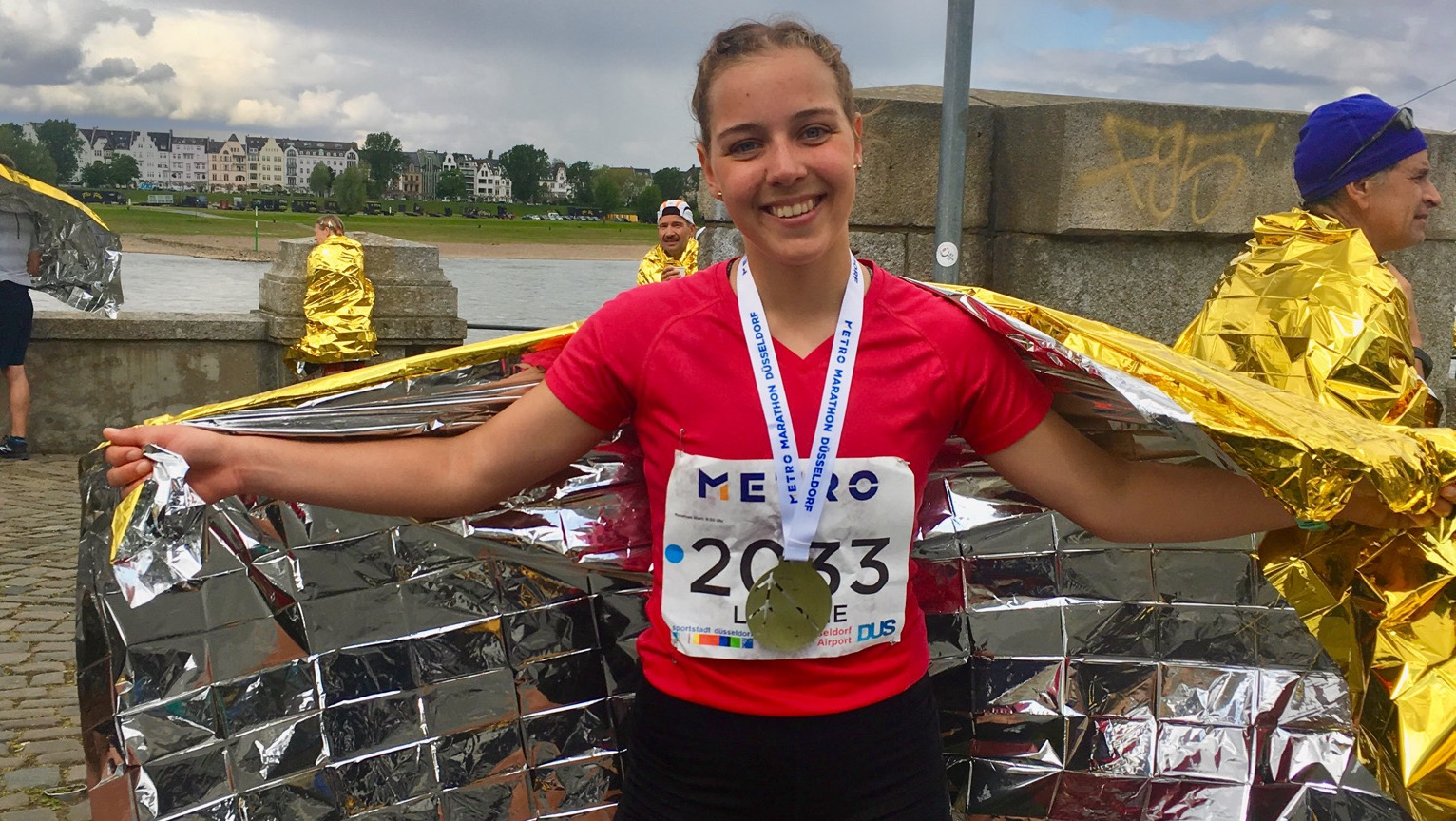 Laurine Freitag Marathon1