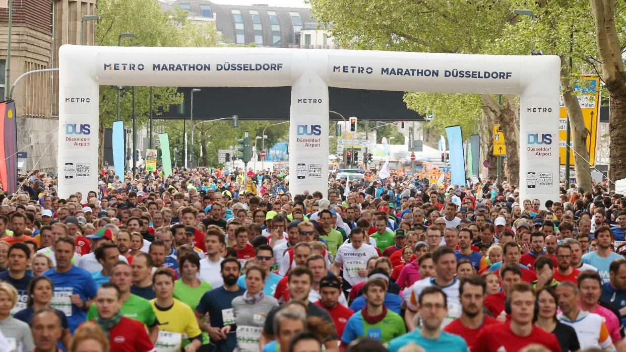 (Foto: Dave Young / Rhein-marathon Düsseldorf GmbH)
