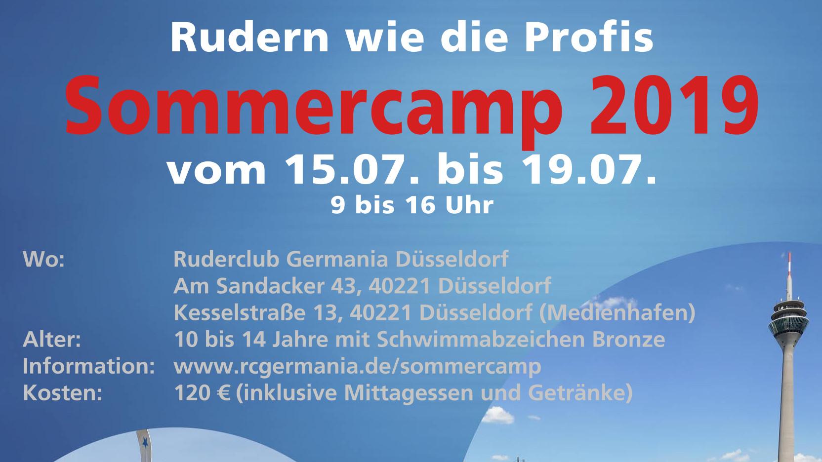 Sommercamp 2019 Plakat