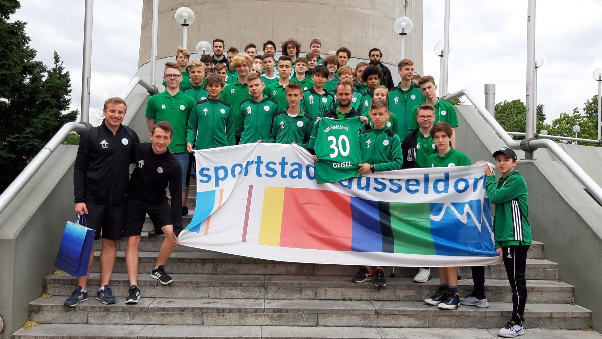 Fußballprojekte Mit Der Partnerstadt Warschau Zum 30. Jubiläum Der Städtepartnerschaft