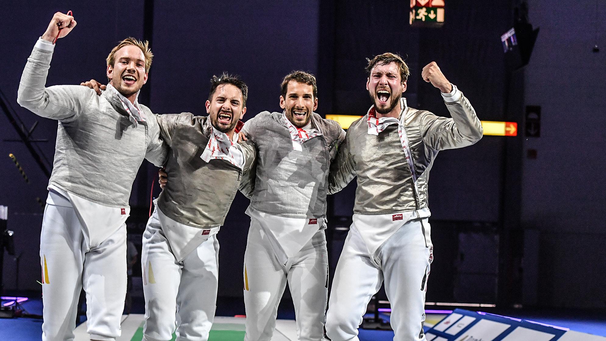 Fecht-Europameisterschaften 2019: Deutsche Säbelfechter Sind Europameister