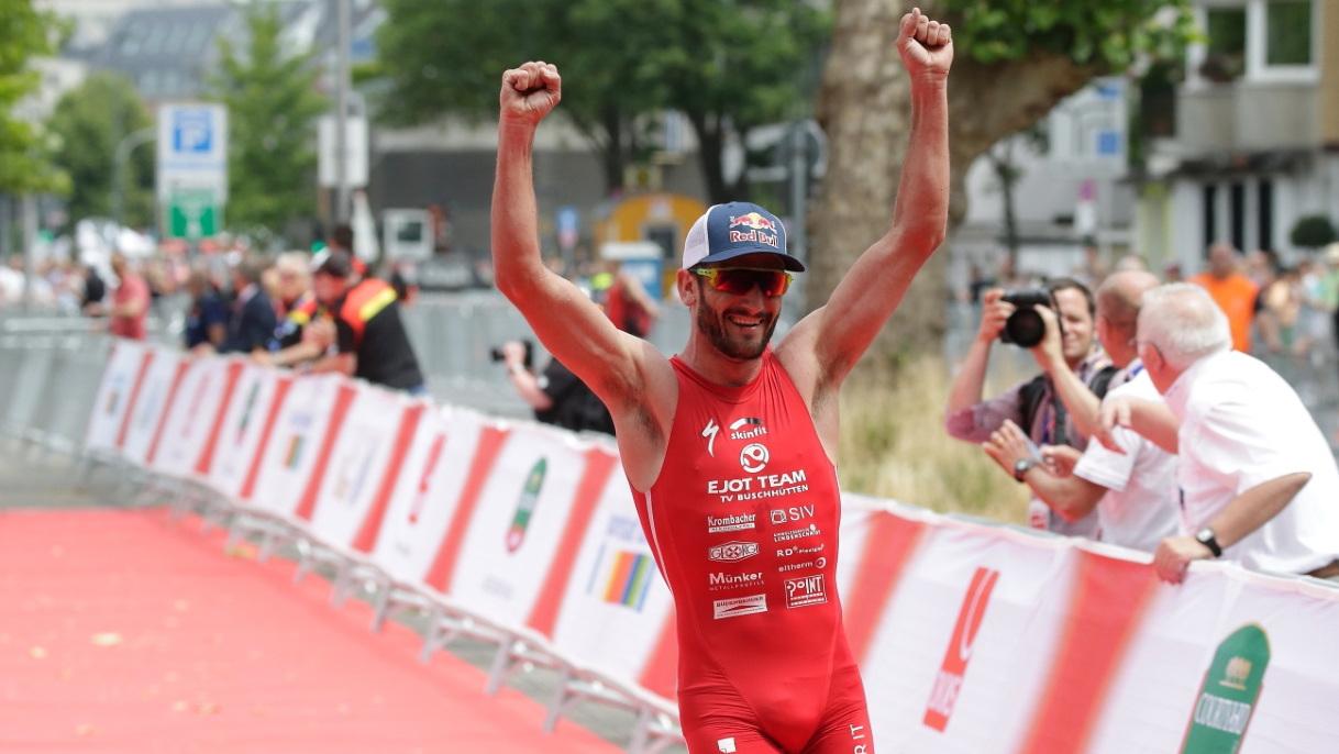 Richard Murray Bei Seinem Sieg In Düsseldorf 2015 (Foto: Dave Young)