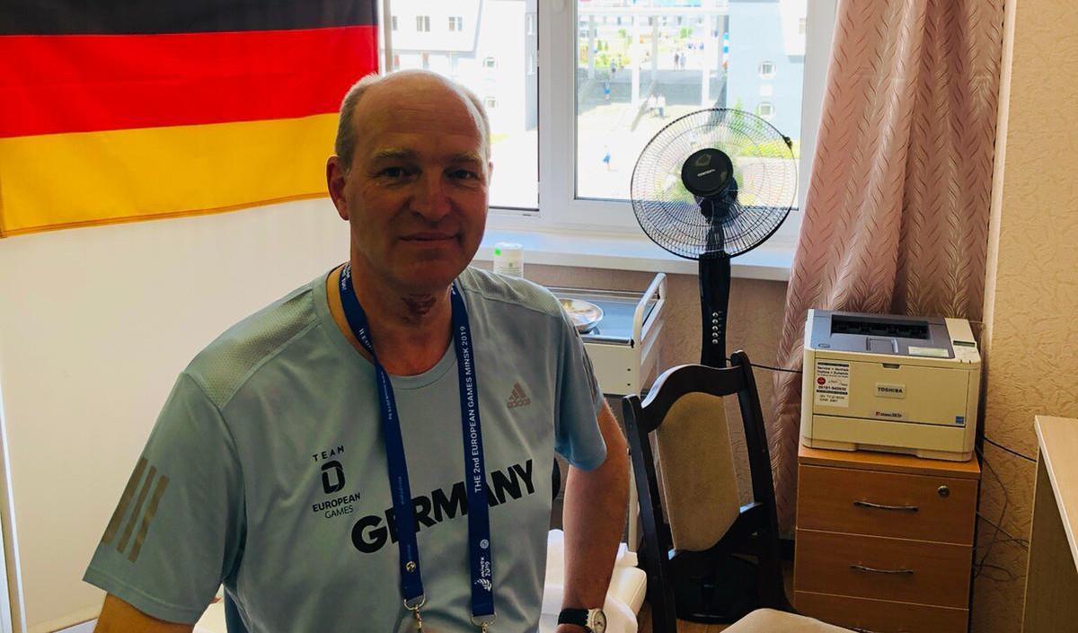 European Games / Borussia-Arzt Kass Ist Nicht Nur Für Die Tischtennis-Spieler Da!