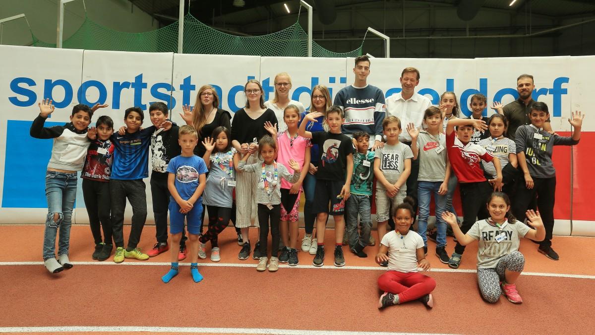 Sport Integriert! Sommerferiencamp Für Geflüchtete Kinder Vom 15. Bis 19. Juli Im Arena-Sportpark