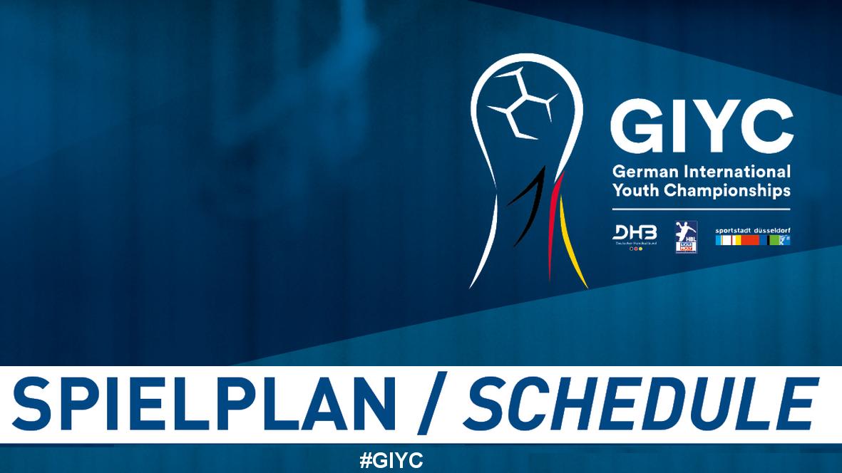 Einen Monat Vor Dem Turnier: Spielplan Der Geman International Youth Championships Veröffentlicht – Internationale Top-Spiele Bereits In Der Gruppenphase