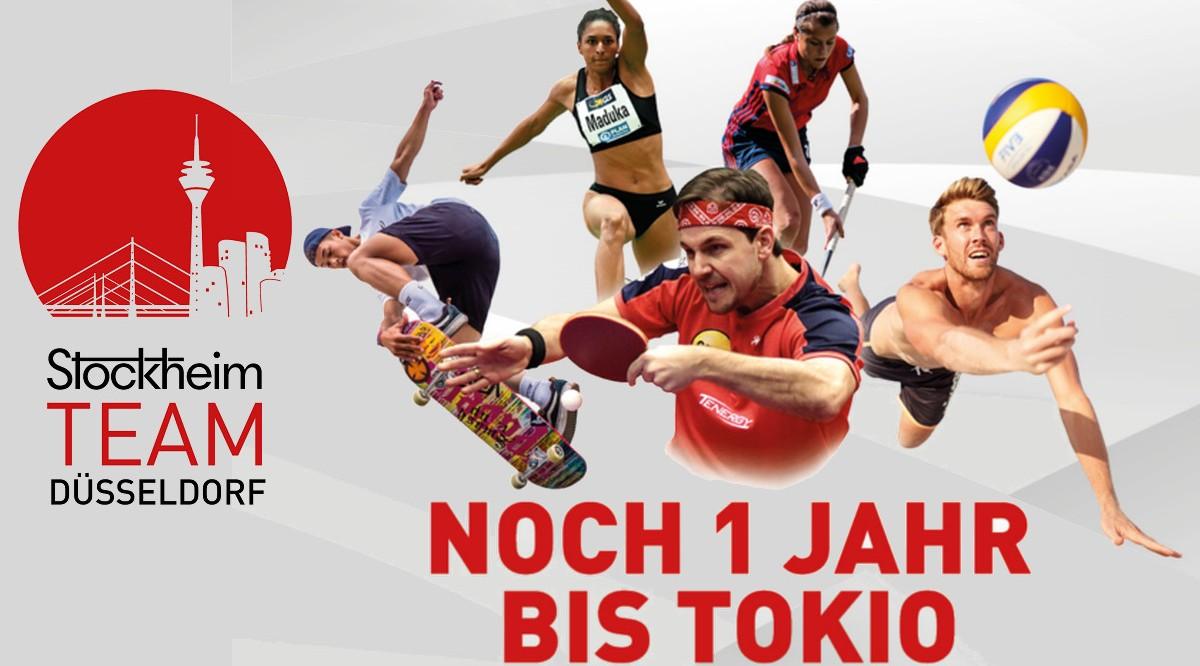 TeamDuesseldorf Countdown 1 Jahr