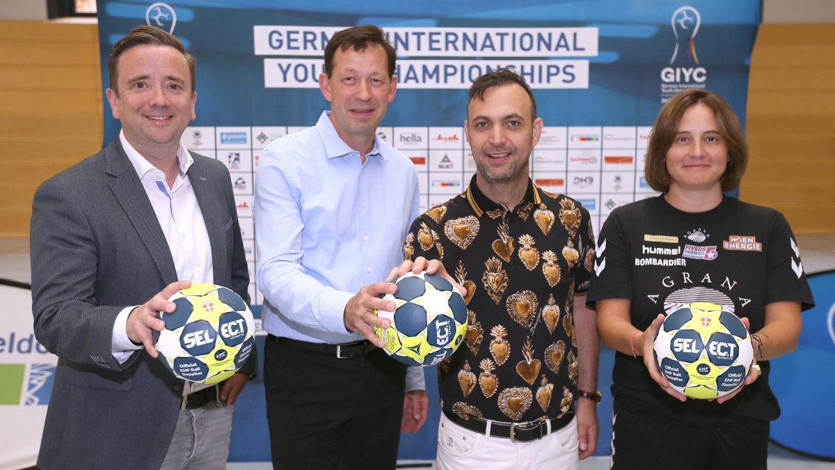 Internationale Top-Nachwuchsteams Des Handballs Starten Ins Turnier: Auftakt Für Die German International Youth Championships In Düsseldorf