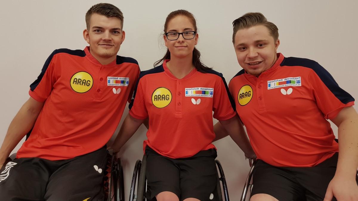 Stockheim Team Düsseldorf: Thomas Schmidberger Und Valentin Baus Qualifizieren Sich Durch EM-Siege Für Die Paralympischen Spiele 2020 In Tokio