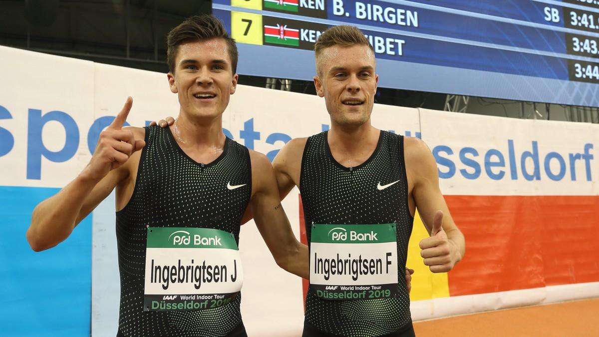 Jakob Und Filip Ingebrigtsen (Foto: D.LIVE)