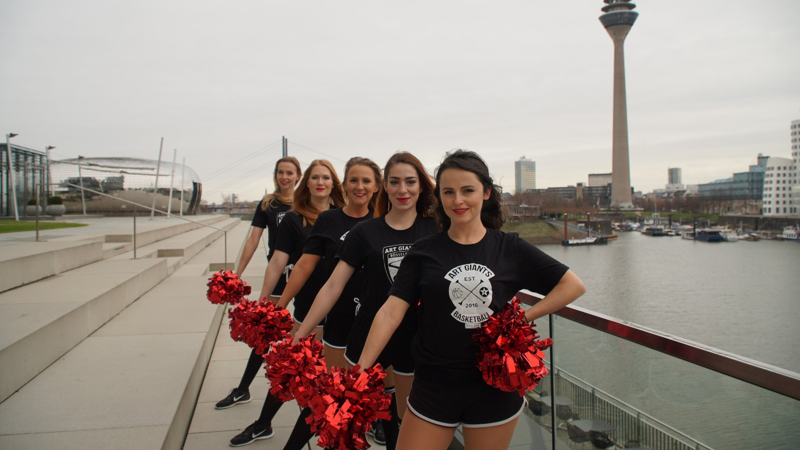 Düsseldorf Cheer Company Startet Mit Doubleheader In Die Saison