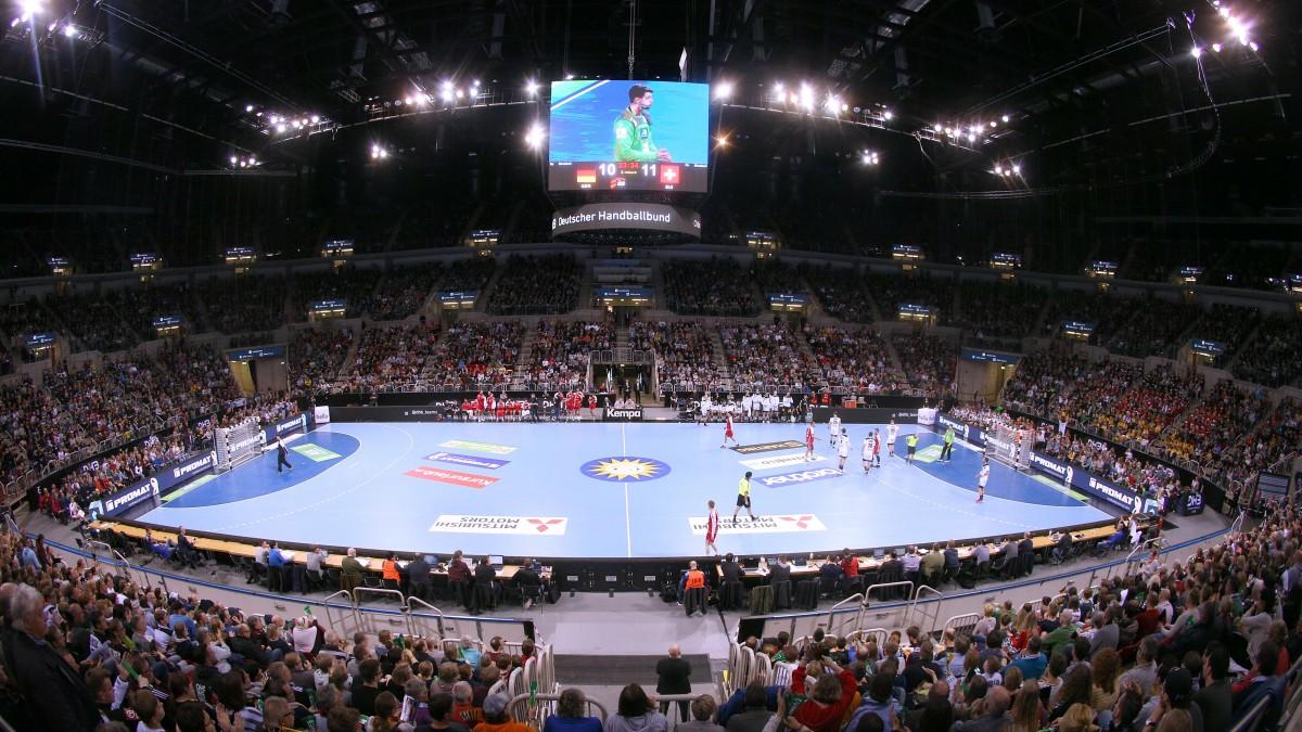 Handball-Länderspiel Im ISS DOME (Foto: Anke Hesse)