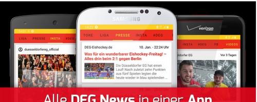 """""""DEG News"""": Neue App Mit Allen DEG-Infos! Ab Sofort Kostenfrei Für Android Und IOS"""