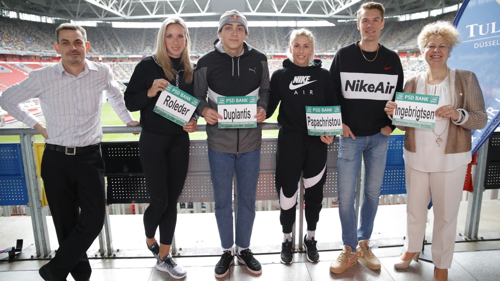 Titelhungrige Leichtathletik-Stars kämpfen um die Podiumsplätze beim PSD Bank Leichtathletik Meeting Düsseldorf