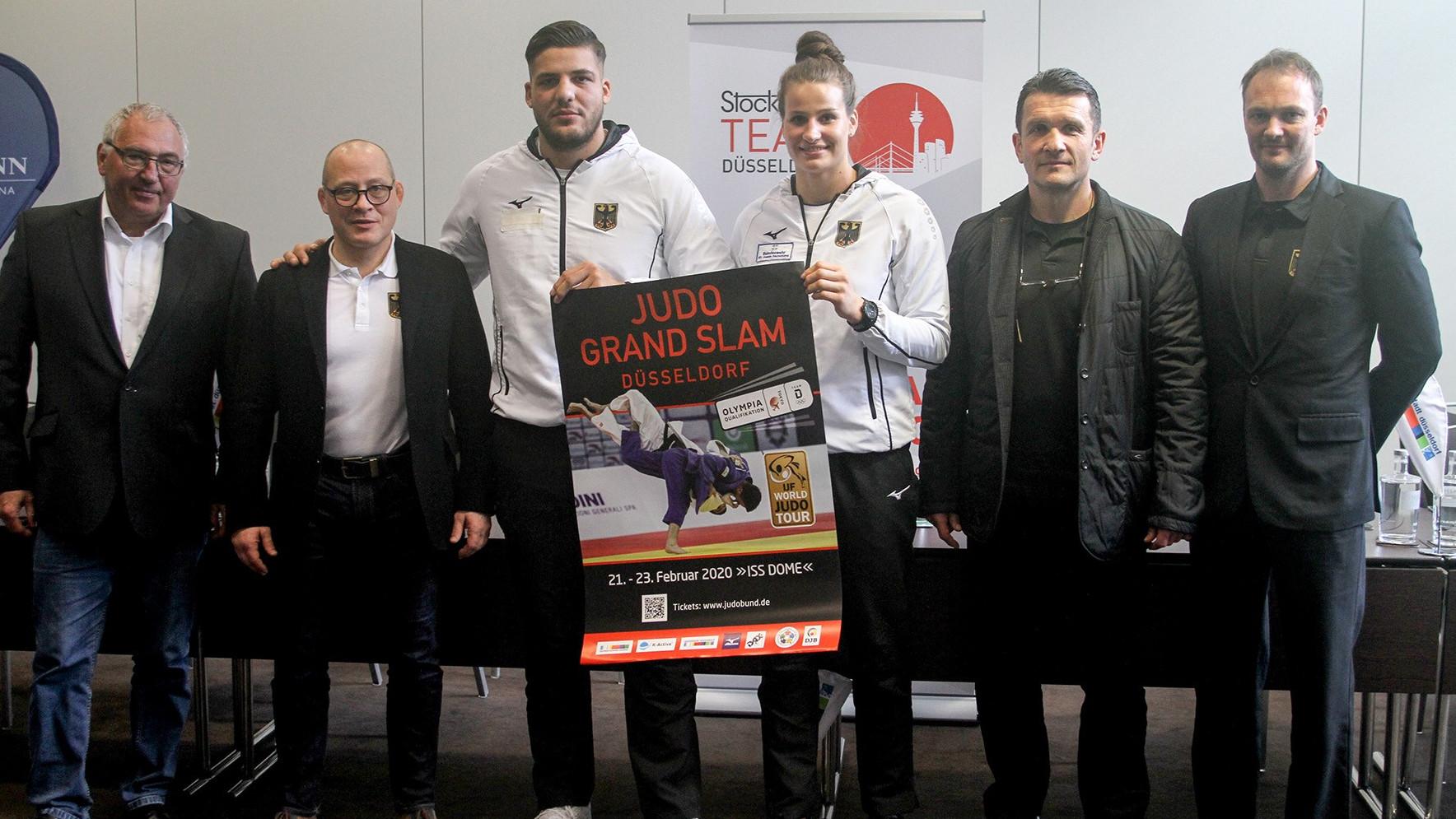 Judo Grand Slam Im ISS DOME: Heimspiel Auf Großer Bühne Für Düsseldorfer Judoka