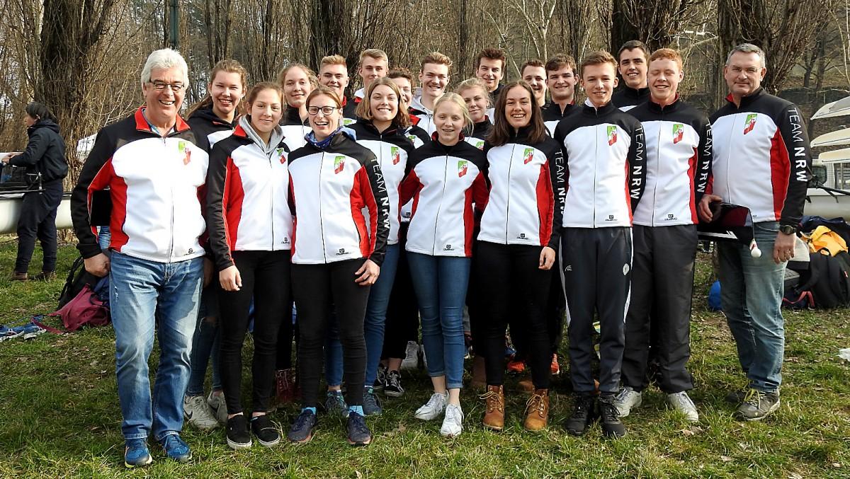 Magdalena Hallay Mit Team NRW In Turin (Foto: Privat)