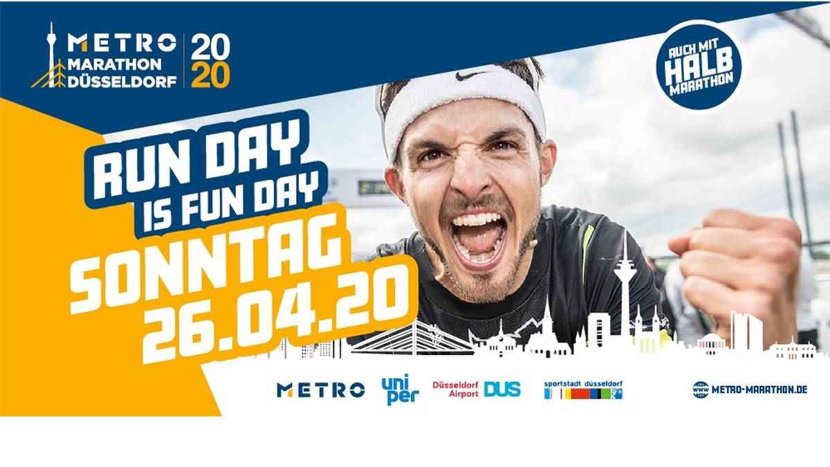 METRO Marathon Düsseldorf 2020: 18. Auflage Am 26. April Offiziell Abgesagt